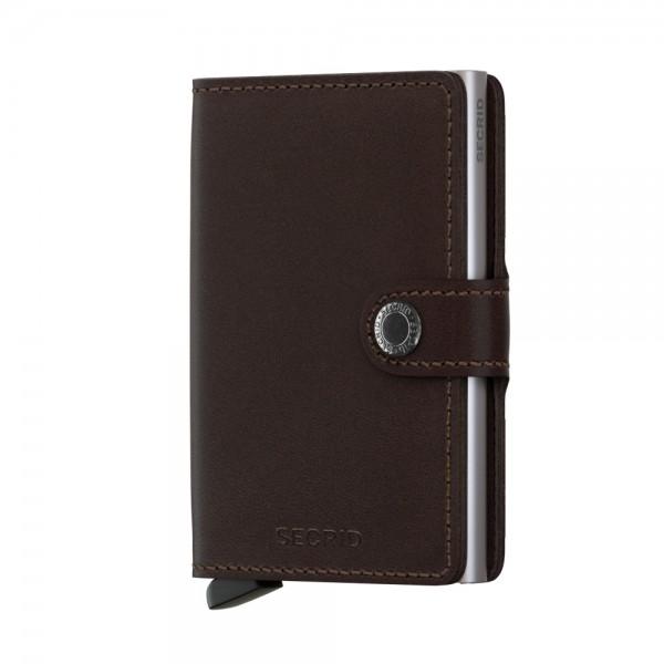 Secrid Miniwallet Börse Brauntöne mit RFID Schutz 6.5 cm