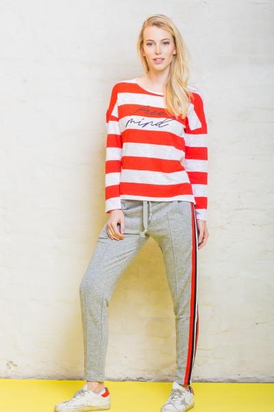 Emily van den Bergh Shirt weiß/rot 5088