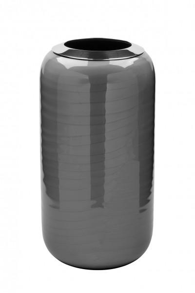 Fink Vase DIPA Grau 26cm