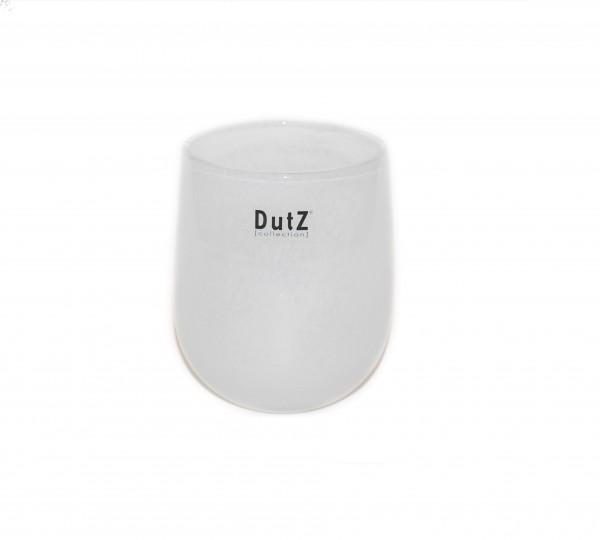 Dutz Vase Barrel Weiß - verschiedene Größen