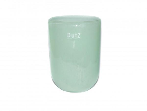 Dutz Vase Oval Menthol H14 cm