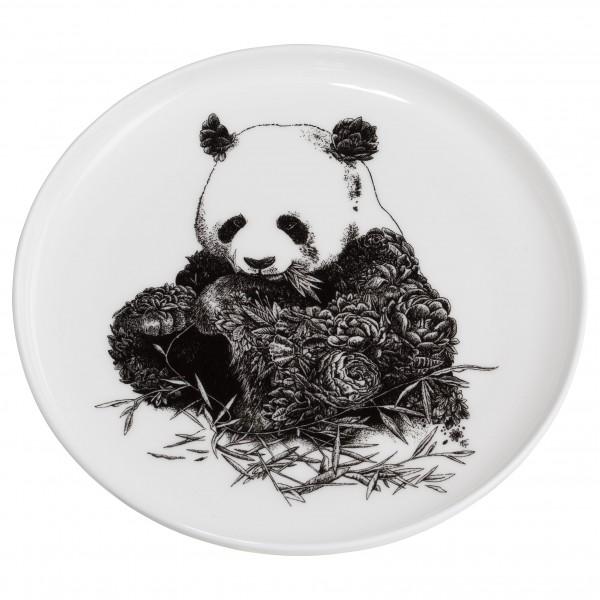 Marini Ferlazzo Teller 20cm, Panda + Geschenkbox