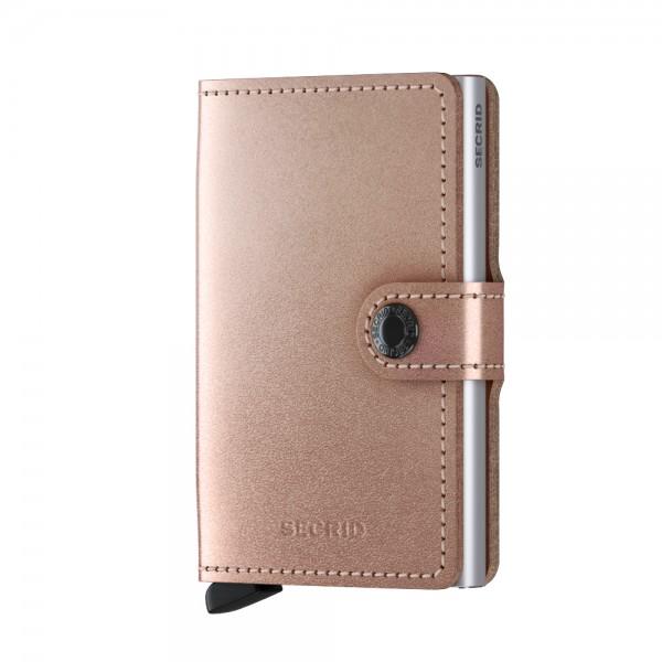 Secrid Miniwallet Börse Metallic mit RFID Schutz 6.5 cm