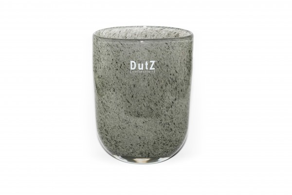 Dutz Vase Oval New Grey H14 cm