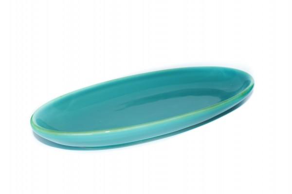 Grün und Form AntipastischaleTürkis 2 Größen