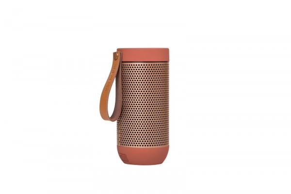 Kreafunk - aFUNK 360° Bluetooth Lautsprecher Koralle
