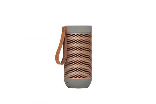 Kreafunk - aFUNK 360° Bluetooth Lautsprecher Grau