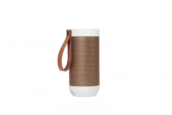 Kreafunk - aFUNK 360° Bluetooth Lautsprecher Weiß