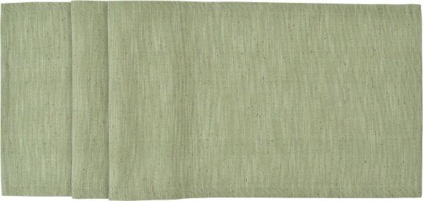 Sander Tischläufer Laurin 40 x 150 cm - Hellgrün