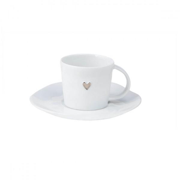 """Räder Espressotasse """"SILBERNES HERZ"""""""