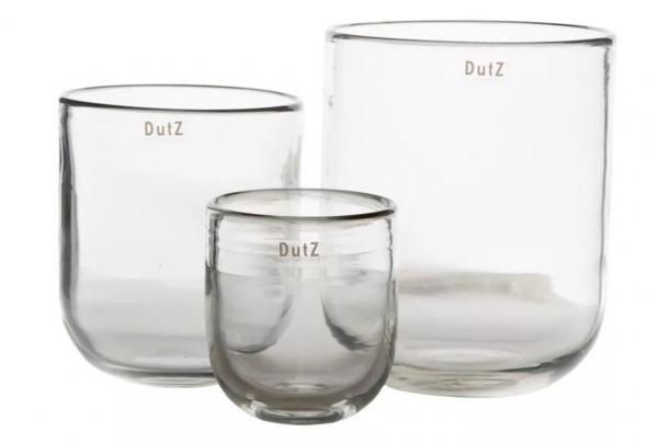 Dutz - Vase Flower Klarglas
