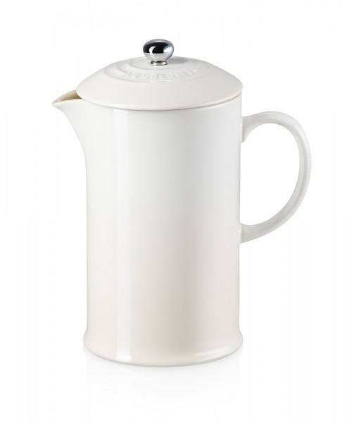 Le Creuset Kaffeebereiter Steinzeug Meringue