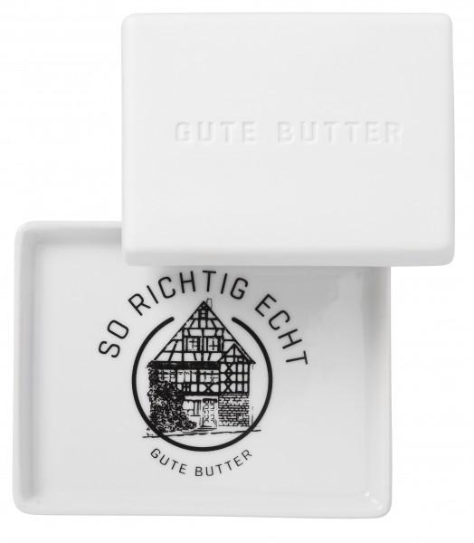 "Räder Große Butterdose - ""Gute Butter"""