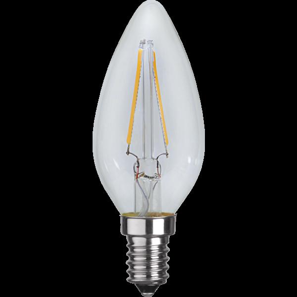 Star Trading LED Glühbirne E14 Warmweiß 2700K