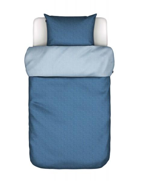 Maro O' Polo Bettwäsche Blau mit Streifen