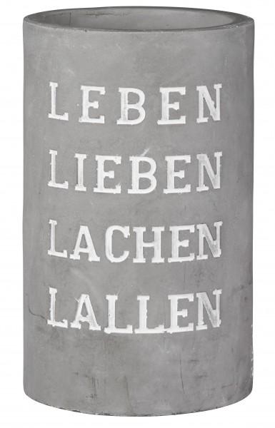 """Räder Weinkühler - """"Leben Lieben Lachen Lallen"""""""