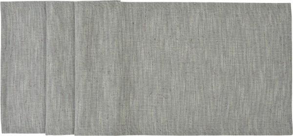 Sander Tischläufer Laurin 40 x 150 cm - Silbergrau