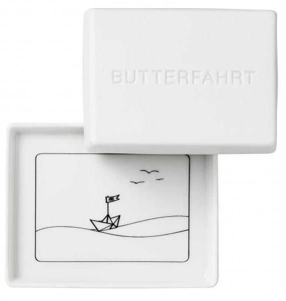 """Räder Große Butterdose - """"Butterfahrt"""""""