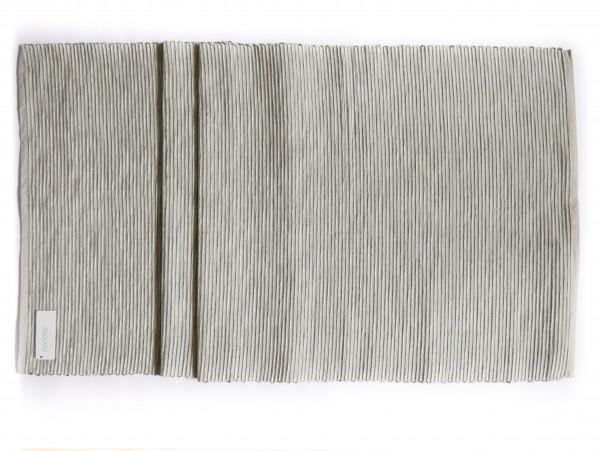 Sander Tischläufer Breeze 50 x 140 cm Silbergrau