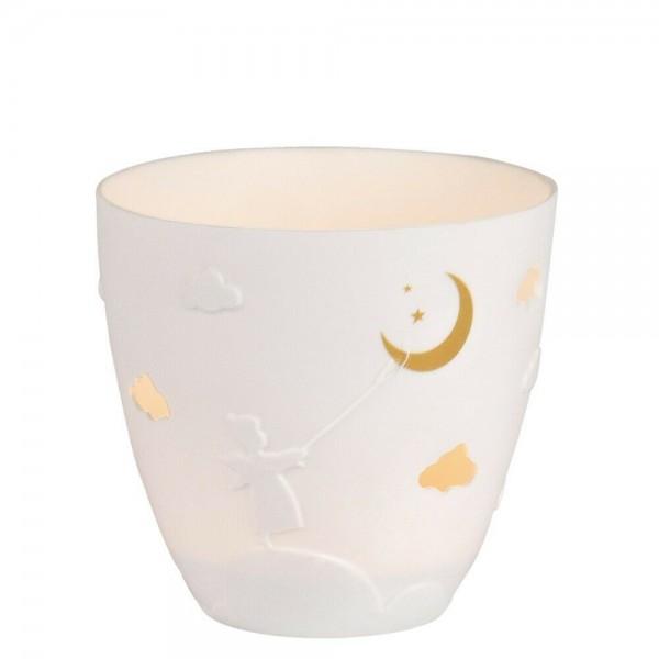 Räder Poesielicht Teelichthalter Engel Mond 9cm
