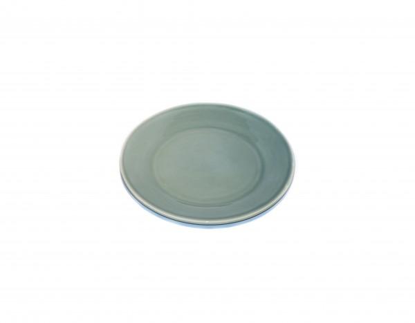 Grün und Form Frühstücksteller Olivgrün D22cm