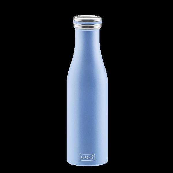 Isolier-Flasche Edelstahl 500ml - in verschiedenen Farben