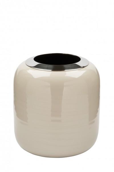 Fink Vase DIPA Creme 19cm