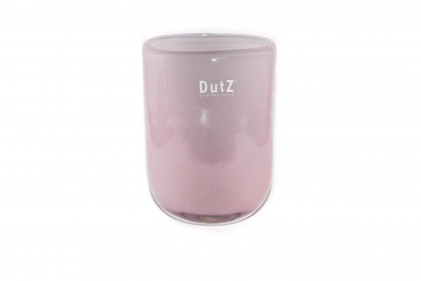 Dutz Vase Oval Old Rose H14 cm