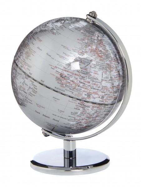 Emform Miniglobus Gagarin Silver Silber