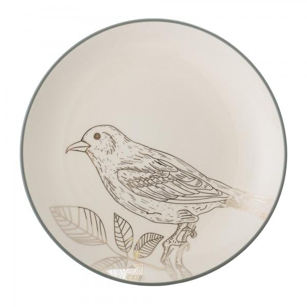 Bloomingville - Frühstücksteller Vogel