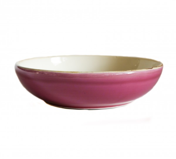 Grün und Form Suppenteller Pink D21cm