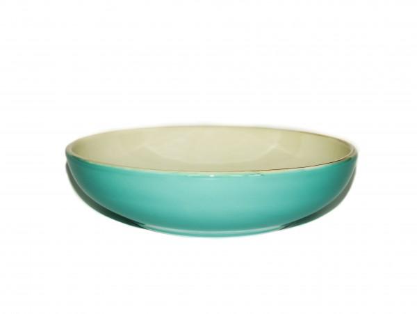 Grün und Form Suppenteller Türkis D21cm