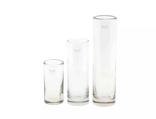 Dutz - Vase Cylinder Schmal Klarglas